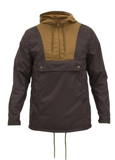 Men's → Jackets → Mumrik annorak dark chocolate - WeSC Webshop