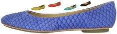 Miz Mooz Women's Panther Ballet Flat.  Different colors available at various price points. Over 11 colors available. Blue featured here at $99.95 ~ The Stilush Team