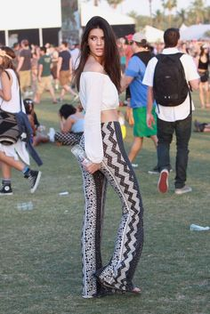 April 19, 2014 - Kendall Jenner at Coachella 2014 Weekend 2: Day 2