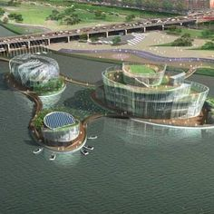 Floating Islands Add 100,000 Square Feet to Downtown Seoul