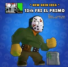 Friday the EL Primo - Rate this skin idea in the comments . Star Wallpaper, Wallpaper Iphone Disney, Blow Stars, Star Costume, Star Character, Star Comics, Pokemon Memes, Free Gems, Video Game