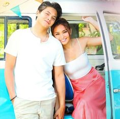 Gab and Dos played by Kathryn Bernardo and Daniel Padilla in the upcoming movie Can't Help Falling In Love, APRIL 15TH! ❤