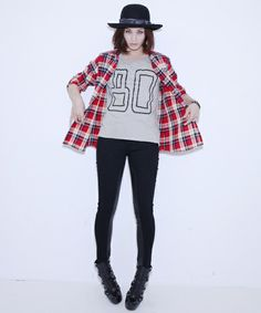 ZOZOPEOPLE | STUSSY WOMEN - Classic AC Flannel Shirt