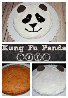 Kung Fu Panda Cake, easy to make using store bought cake mix. Just in time for the Kung Fu Panda 3 movie coming out! http://mamato5blessings.com/2016/01/kung-fu-panda-party-featuring-po-panda-cake-pandainsiders-kungfupandaparty/