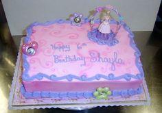 Barbie Ballerina - CakeCentral.com