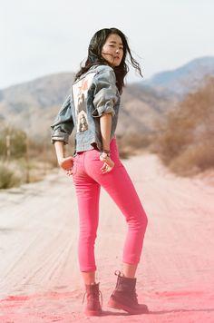 #nastygal and #minkpink   Nasty Gal x MINKPINK Sophie Skinny Jeans   $88.00