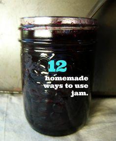 ways to use homemade jam