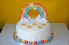 La rainbow cake o torta arcobaleno è un dolce americano composto da 6 dischi sovrapposti, ognuno con un colore che richiama i colori dell'arcobaleno, la torta