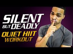 "40 Min. Silent But Deadly | Low Impact ""Quiet"" HIIT Workout - YouTube"