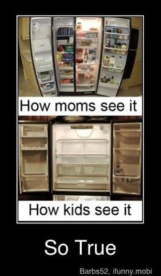 Empty fridge ..