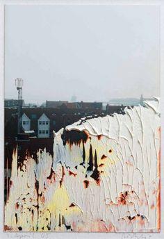 MIXED MEDIA Gerhard Richter: Untitled (1 April '05). 2005. 14.8 cm x 10.1 cm…