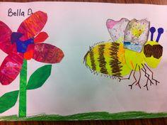 Drip, Drip, Splatter Splash: Eric Carle, The Honeybee and the Robber