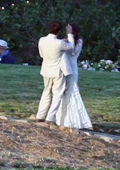 Ian Somerhalder and Nikki Reed got married in Santa Monica, California Ian Somerhalder Wedding, Ian Somerhalder Nikki Reed, Nikki Reed Wedding, Ian And Nikki, Star Wars, Santa Monica, Vampire Diaries, Got Married, Wedding Photos