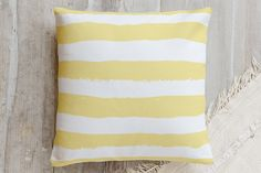 Chunky Stripes Pillow by Lehan Veenker | Minted