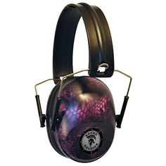 Sound Soldier Pasive Youth Ear Muff - Pink