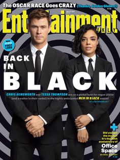 Exclusive: Chris Hemsworth and Tessa Thompson go global in 'Men in Black: International' first look Men In Black, Back To Black, Snowwhite And The Huntsman, Tessa Thompson, Entertainment Weekly, Scion, Chris Hemsworth, New Man, Going Crazy