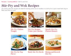 Practical and great WOK recipes -- I just got a wok from my grandma, and I'm excited to use it. The recipe hunt is on!
