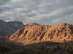 JD's Scenic Southwestern Travel Destination Blog: Sunset At Red Rock Canyon!