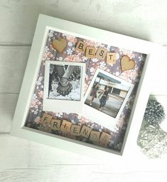 Excited to share the latest addition to my #etsy shop: Gift For Best Friend, Best Friends Frame, Personalised Best Friend Frame, Gift For Friend, Scrabble Frame, Personalized Scrabble Art. #bestfriend #scrabbleframe #personalisedframe http://etsy.me/2A6ORF1