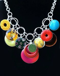 Coreen Cordova colorful necklace