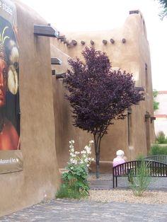 The Santa Fe art museum.