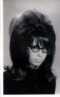 1960s big hair took half an hour to rat up on top AND a night of sleeping in sponge rollers for the flip on the bottom. I don't want to hear anything else about how dumb 80s hair looked.