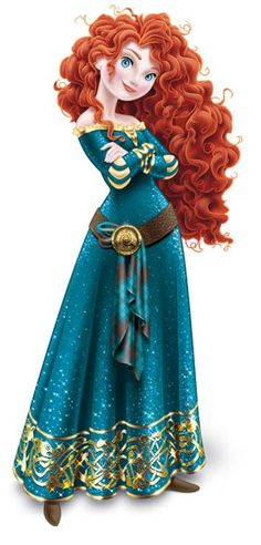 Princess Merida is the protagonist of Disney/Pixar's 2012 animated feature film, Brave. She is a Scottish princess and the daughter of Queen Eleanor and King Fergus. Merida is the eleventh official Disney Princess and the first to originate from Pixar. Walt Disney, Disney Magic, Disney Art, Disney Movies, Disney Characters, Disney Wiki, Face Characters, Disney Fairies, Princesa Merida Disney