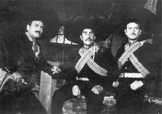 Pedro Armendariz, El Indio Fernandez y Antonio Aguilar