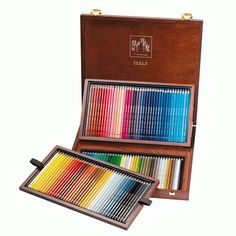 Amazon.com: CREATIVE ART MATERIALS Pablo Colored Pencil Set Of 120 Wooden (666.920): Office Products
