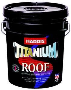 TITANIUM ROOF es un sellador a base de agua que se adhiere fuertemente a cualquier tipo de superficie. 2 en 1, no necesita primer.  Secado por transición de azul a ultra blanco.  Para un techo libre de filtraciones!