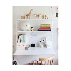 Pack para escritorio String soporte de sueloString conjunto escritorio pared