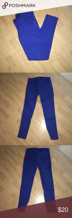 Royal bones blue jeans Royal bones blue low rise jeans size 5 short royal bones Pants Skinny