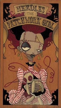 Needles the Patchwork Girl by Gris Grimly