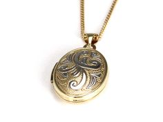 Bella Sentiments Two Tone Oval Locket - available online!