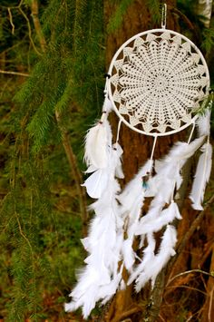 A personal favorite from my Etsy shop https://www.etsy.com/listing/228488778/wings-of-athena-large-gypsy-dreamcatcher