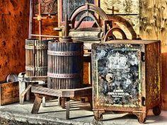 Deadman Ranch, Antike, Gebäude, Holz-Saft-Presse