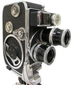 Vintage Bolex Paillard 8mm movie camera. #shopgoodwill #auction