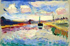 Henri Matisse, O canal do meio
