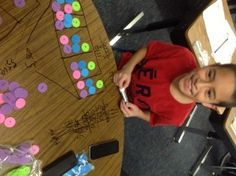 Manipulatives and Models to learn long division.
