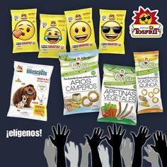 Muchos #snacks nuevos hemos lanzado al mercado en los últimos meses, #Emotibolas, #Kaskys Quinoa, #Aros Camperos y #Apetinas Vegetales #Tosfrit #VITA, #Mascotas…, pero queremos saber si vuestra opinión ha cambiado tras estos lanzamientos.   ¿Cuál diríais que es el mejor producto de Tosfrit?   ¡Vota por el tuyo en los comentarios! Estamos deseando ver el resultado. ☺️