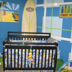 1000 images about surf boy room decor on pinterest surf for Surf nursery ideas