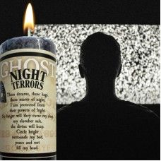 Ghost Candle Night Terrors to help soothe nightmares Candle Magic, Candle Spells, Candle Jars, Eclectic Witch, Night Terror, Get Educated, Black Candles, Burning Candle, Crystal Ball