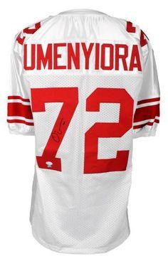 Osi Umenyiora Autographed Jersey - JSA Witness - Sports Memorabilia #OsiUmenyiora #NewYorkGiants #SportsMemorabilia