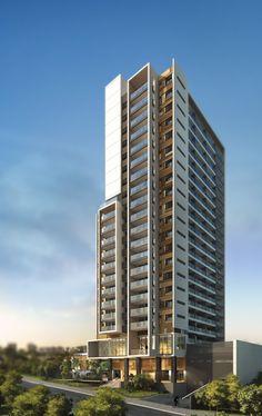 Condominium Architecture, Futuristic Architecture, Facade Architecture, Residential Architecture, Building Elevation, Building Facade, Building Structure, Building Design, Residential Complex