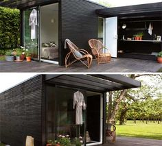 Small prefab cabin: Mini House One +  Walden. This is the greatest!!