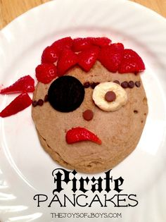 Pirate Pancakes - Talk Like a Pirate Day - The Joys of Boys