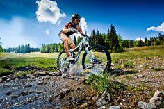 Mit dem Mountainbike auf der Frauenalpe (c) Ikarus  #kreischberg Berg, Vacations, Summer Recipes