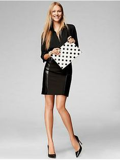 Women's Apparel: featured looks new arrivals | Banana Republic, Black Bouse, and Seamed Pencil Skirt
