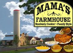 The newest restaurant in Pigeon Forge, Mama's Farmhouse, is Now Open! Mama's features Southern Cookin served Family Style, All You Can Eat! Featuring all the goodies that the Johnson Family's Great-Grandmother (known as Mama to the family) made for them, there will be no menu; just sit down and enjoy Mama's cookin'!