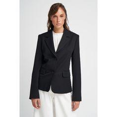 Σακάκι μεσάτο μαύρο.Έχει πετο γιακά και είναι δίκουμπο μέχρι και το μέγεθος 54. Απο το μέγεθος 56 και μετα γίνεται τρίκουμπο. Έχει μακρύ μανίκι με δύο εξωτερικές τσέπες. Είναι φοδραρισμένο.Ελληνική ραφή. Blazers, Jackets, Shopping, Fashion, Down Jackets, Moda, Fashion Styles, Blazer, Jacket